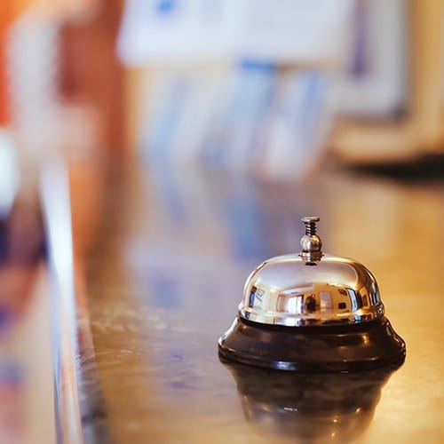 hotel concierge bell - hotel accounting