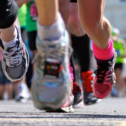 Charities and Not-for-Profit image - running feet