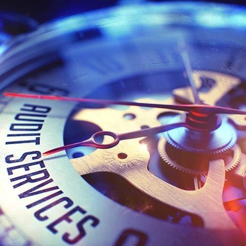 External Audit page Clock ticking