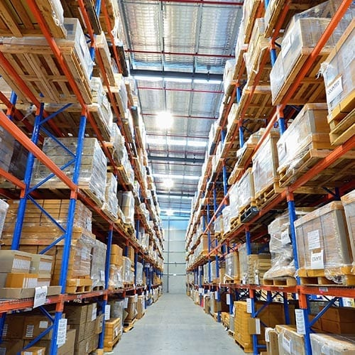 VAT image - warehouse and distribution