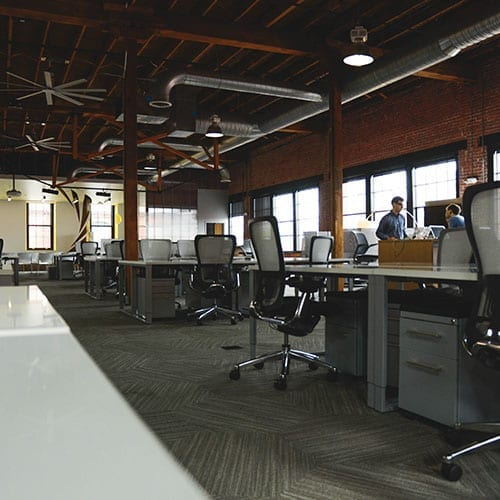 Capital allowances image - Industrial style office image
