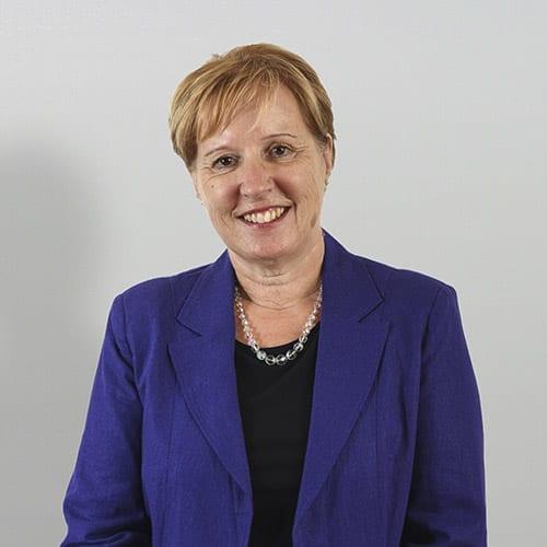 Mandy Gardiner - Portrait image with grey background