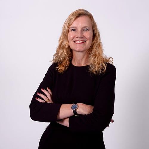 Rosalyn Shallcroft - Portrait image with grey background