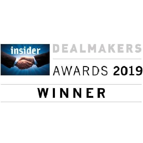 Dealmakers Awards 2019 Winner Logo