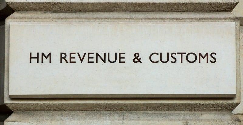 Hm Revenue & Customs Stone Sign
