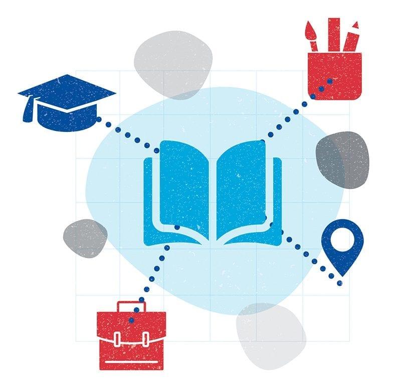 Academies & Education sector illustration