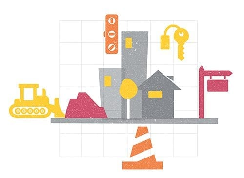 Property & Construction sector illustration